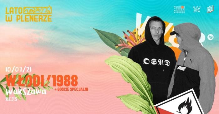 Włodi/1988 - Lato w Plenerze koncert w Warszawie