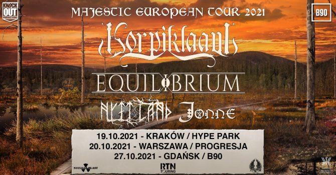 Korpiklaani + Equilibrium, Nytt Land, Jonne / 19 X / Kraków