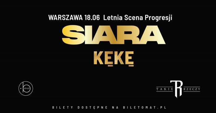 KęKę - Letnia Scena Progresji koncert w Warszawie