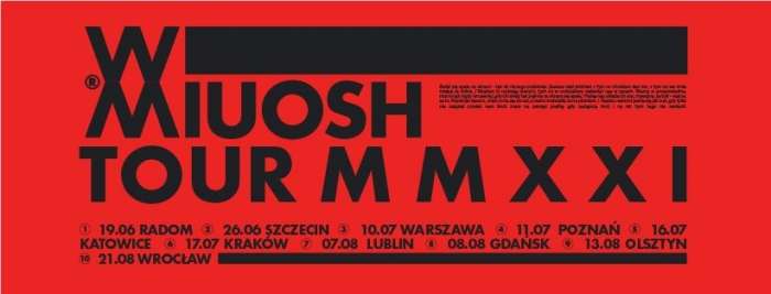 Miuosh XX koncerty