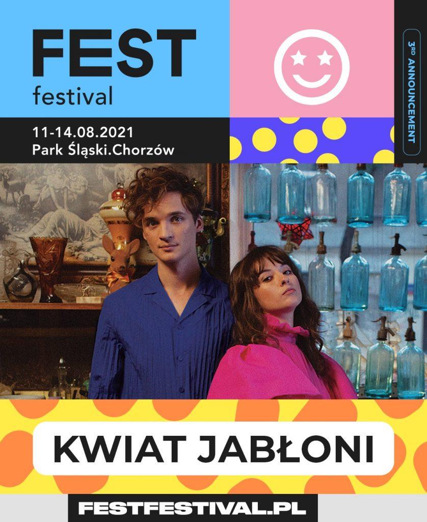 FEST Festival 2021 ogłoszenie Kwiat Jabłoni
