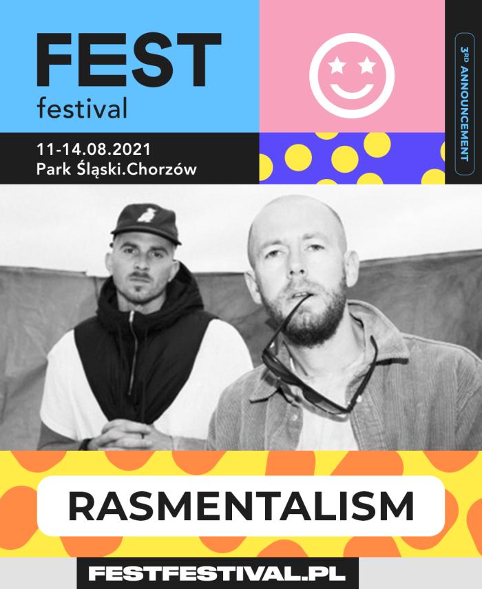 FEST Festival 2021 ogłoszenie Rasmentalism
