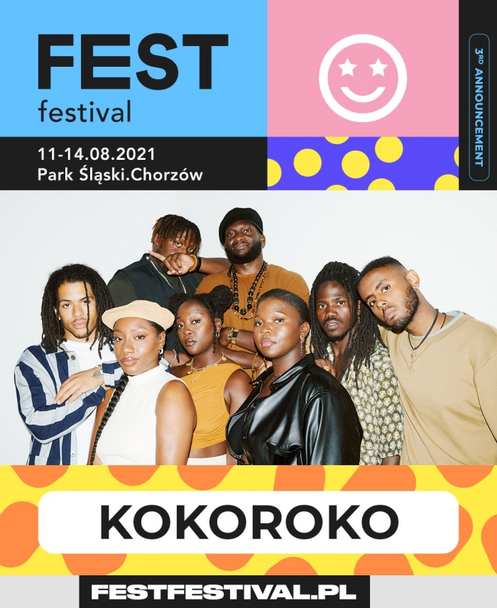 FEST Festival 2021 ogłoszenie KOKOROKO