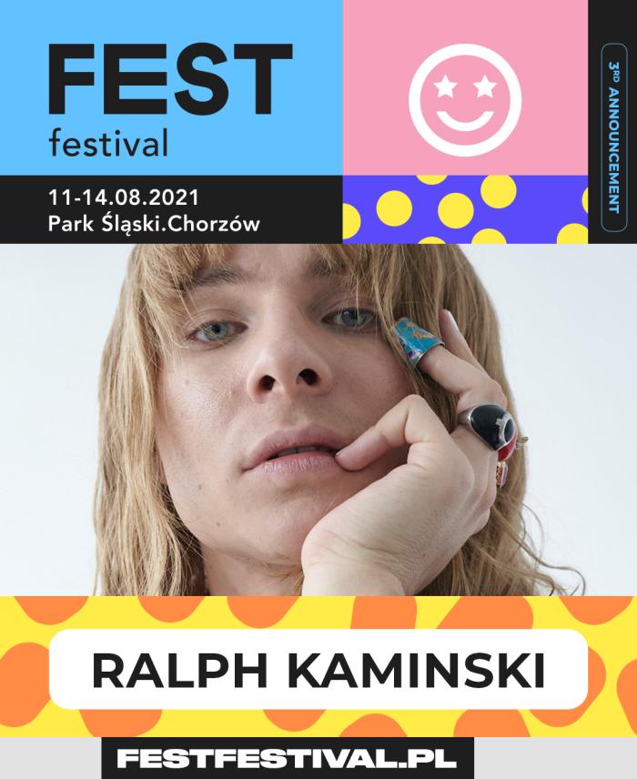 FEST Festival 2021 ogłoszenie Ralph Kaminski