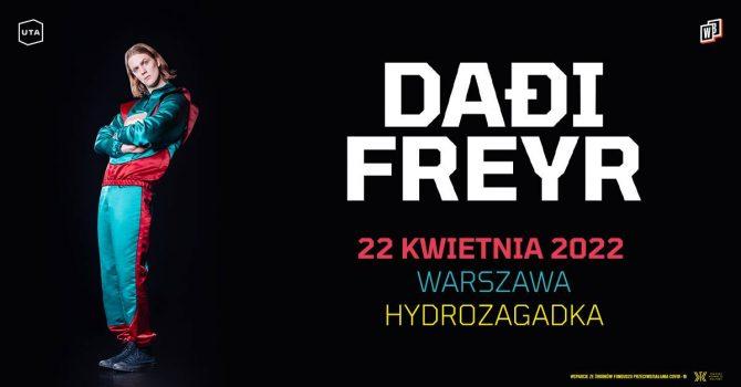Daði Freyr / 22.04 / Hydrozagadka, Warszawa