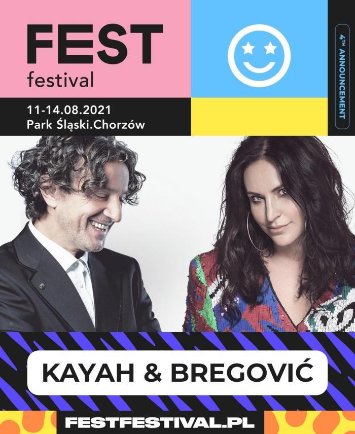 Kayah i Bregović na FEST Festival 2021