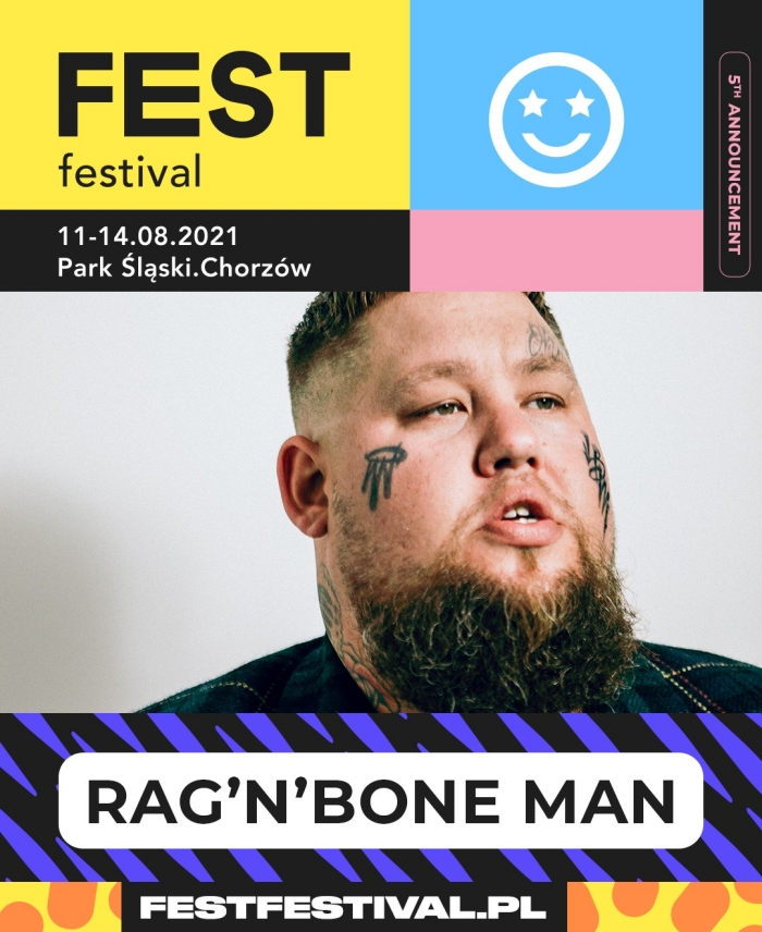 Rag'n'Bone Man na FEST Festival 2021