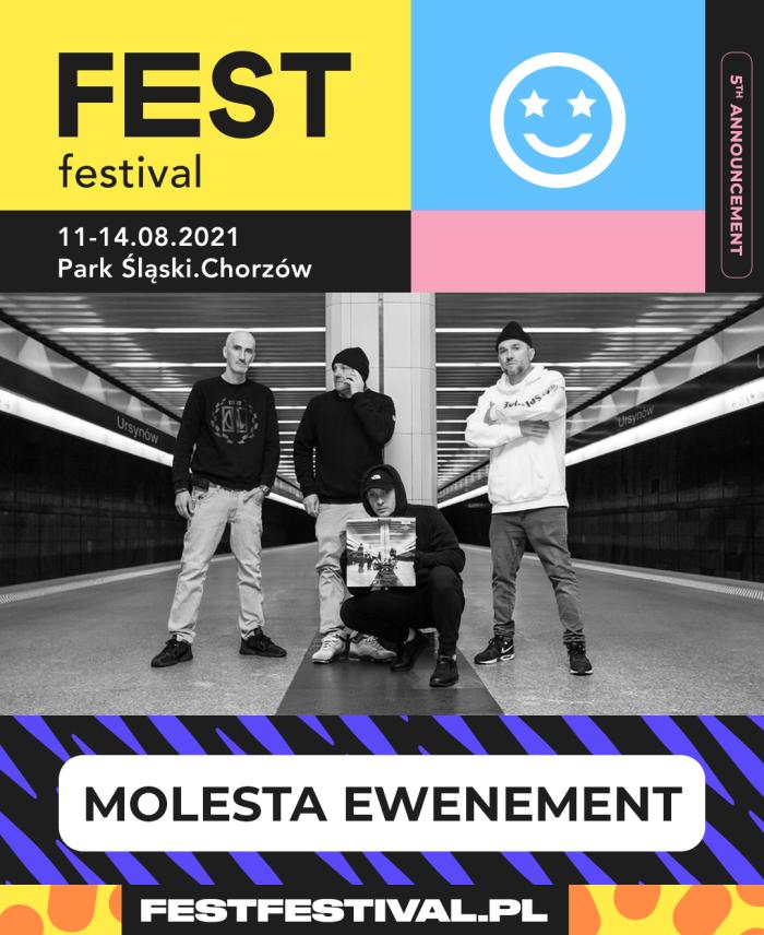 Molesta Ewenement na FEST Festival 2021