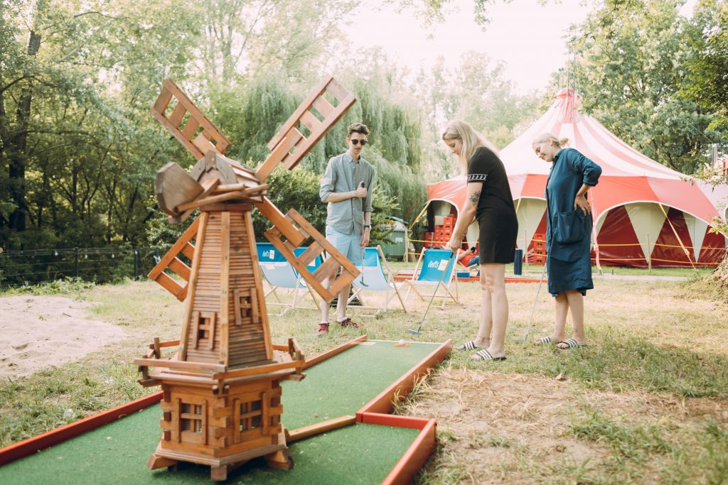 Lunapark minigolf