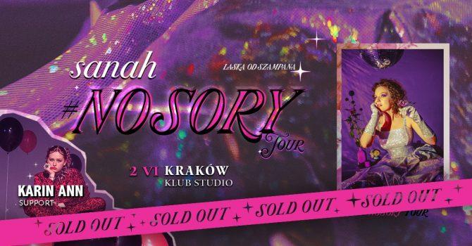Sanah #NoSory Tour / Kraków
