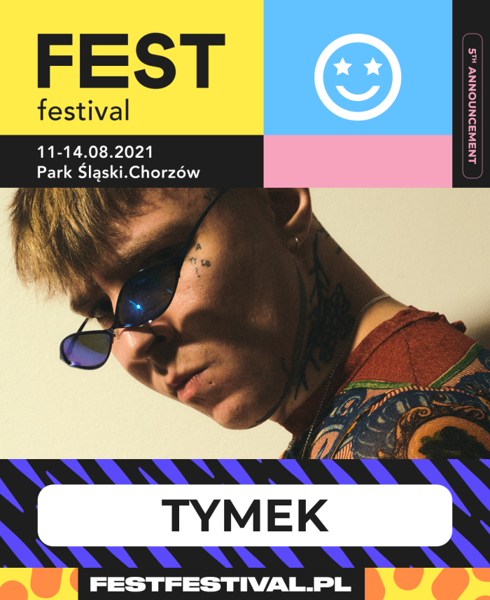 Tymek na FEST Festival