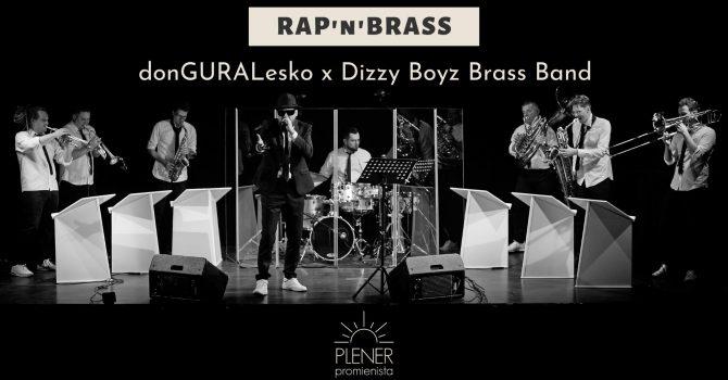 NOWA DATA 18.09.2021 // RAP'n'BRASS // donGURALesko x Dizzy Boyz Brass Band // Plener Promienista