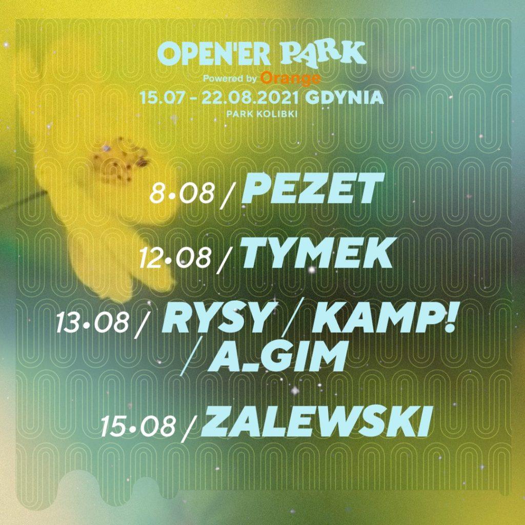 Open'er Park line up bilety