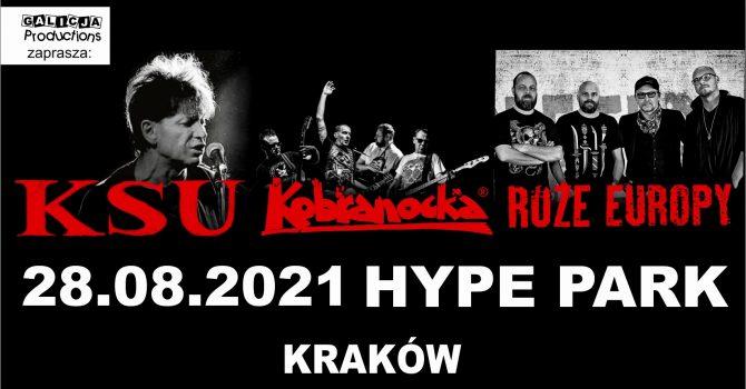KSU, Kobranocka, Róże Europy | Kraków – 28.08.2021 – Hype Park