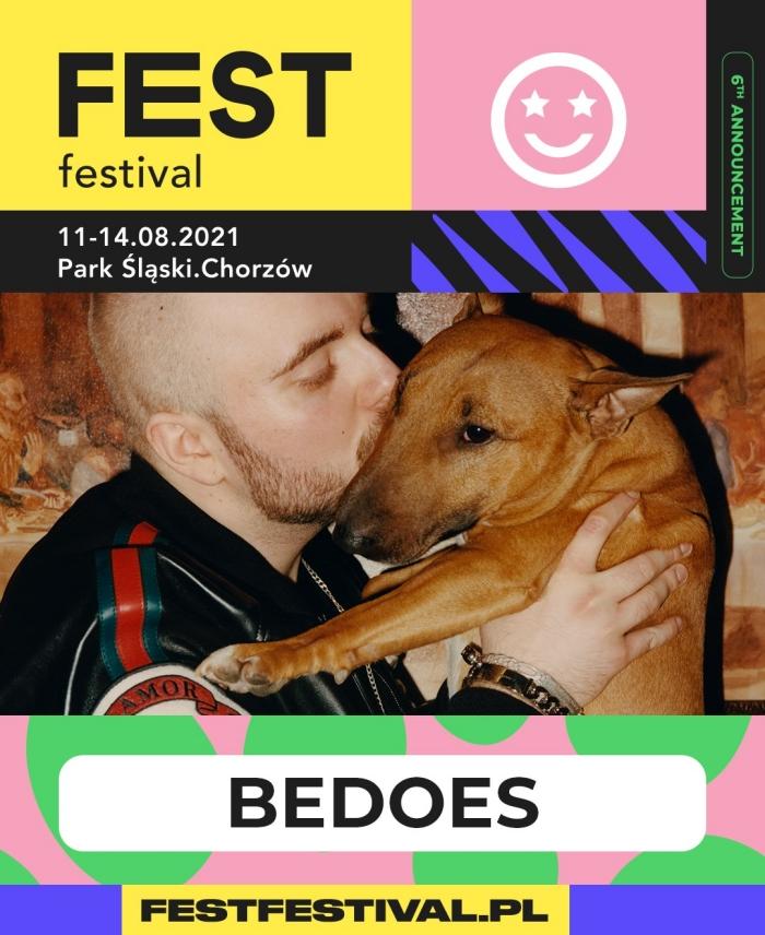Bedoes na FEST Festival 2021