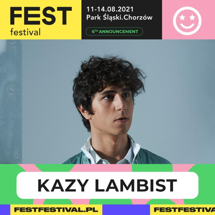 Kazy Lambist na FEST Festival 2021