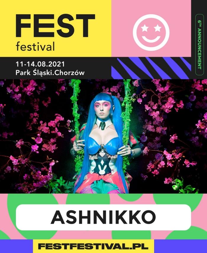 Ashnikko na FEST Festival 2021
