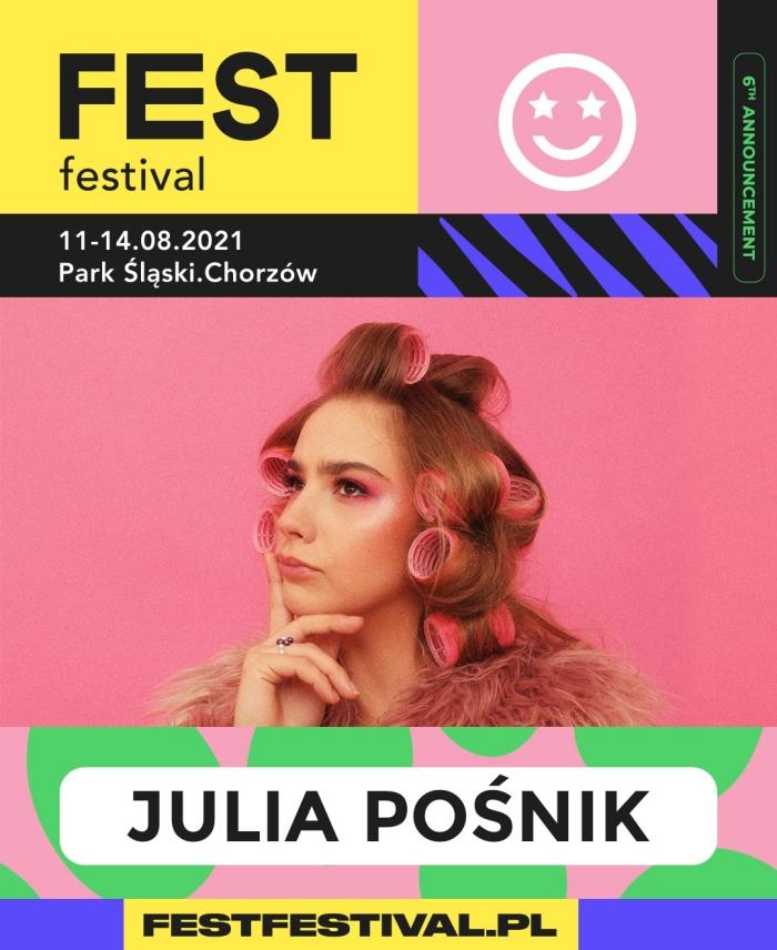 Julia Pośnik na FEST Festival 2021