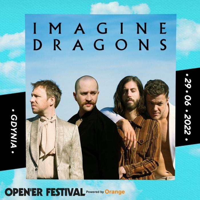 Imagine Dragons w Polsce Open'er Festival 2022