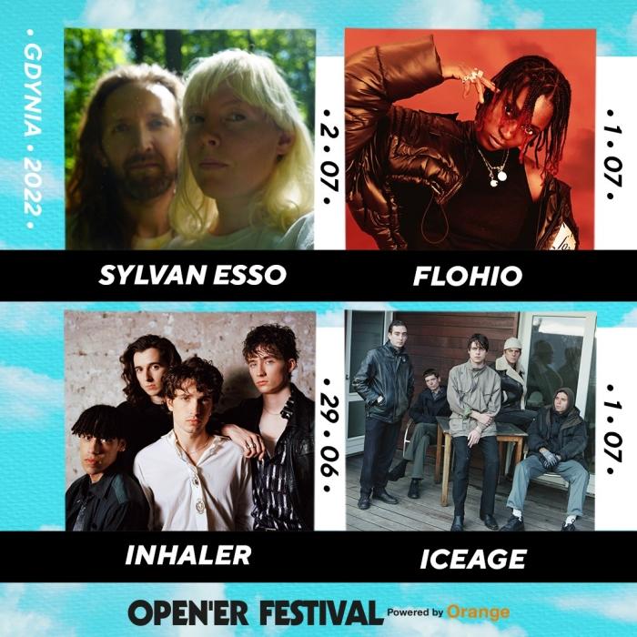 Sylvan Esso, FLOHIO, Inhaler, Iceage na Open'er Festival 2022