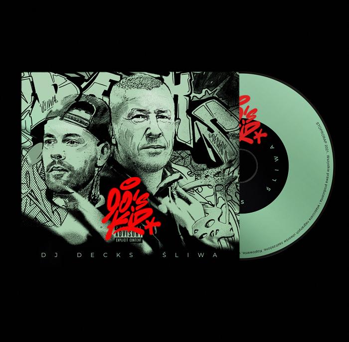 DJ Decks x Śliwa - 90's Kid - okładka płyty