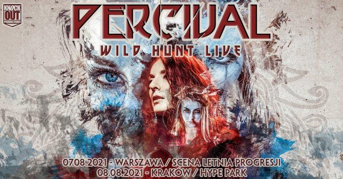 "Percival: ""Wild Hunt Live"" / 8 VIII / Kraków"