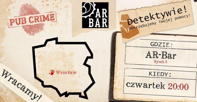 PubCrime x AR-Bar - Wrocław