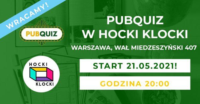 PubQuiz x Hocki Klocki