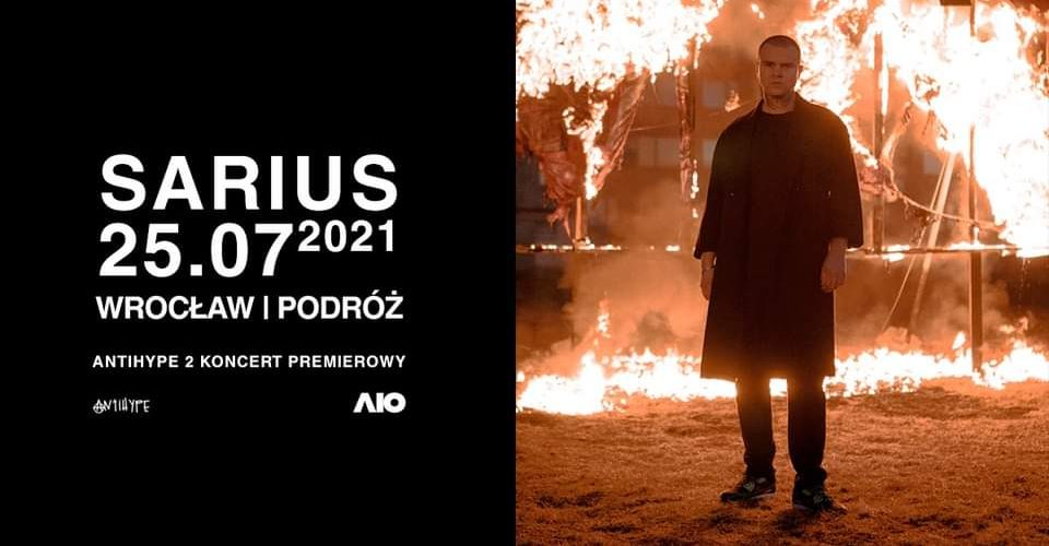 SARIUS - ANTIHYPE 2 TOUR   WROCŁAW
