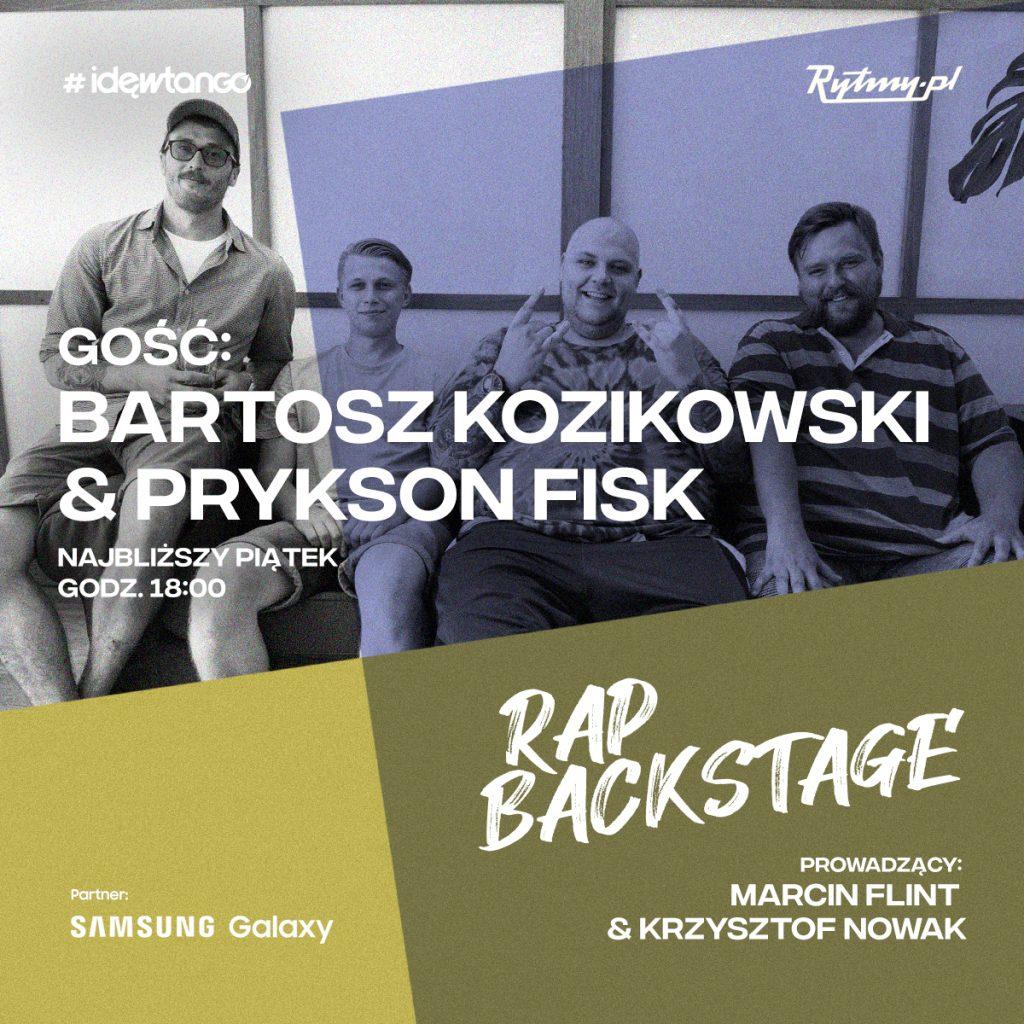 Rap Backstage Bartosz Kozikowski Prykson Fisk