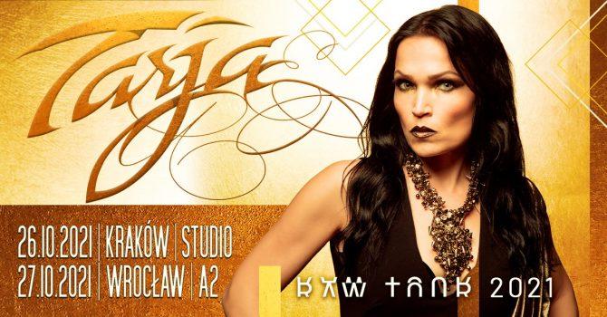 26.10.2021 Tarja + support // Kraków - Studio