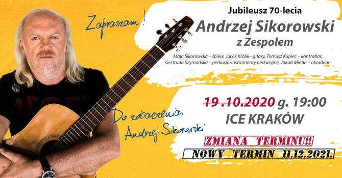 Andrzej Sikorowski - 70-lecie, koncert z Zespołem, Kraków