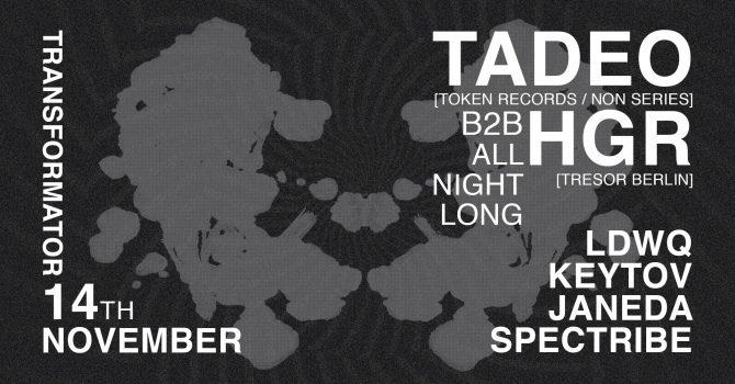 TFR.Import#8 / TADEO Token b2b HGR Tresor / ALL NIGHT LONG