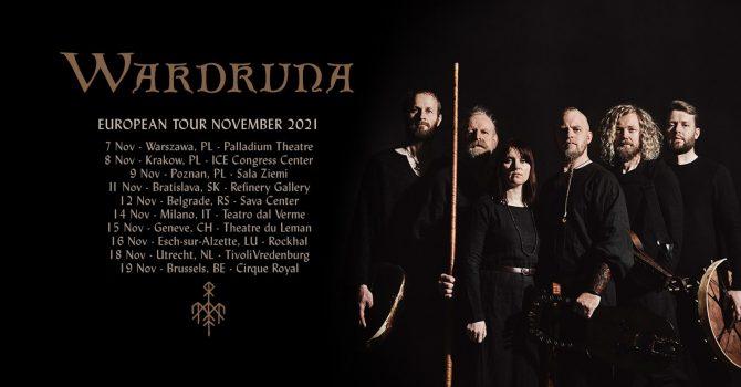 Wardruna - 8.11.2021 / Kraków