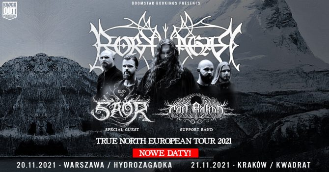 Borknagar + Saor, Can Bardd / 21 XI / Kraków