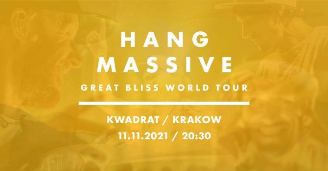 Koncert Hang Massive - Krakow