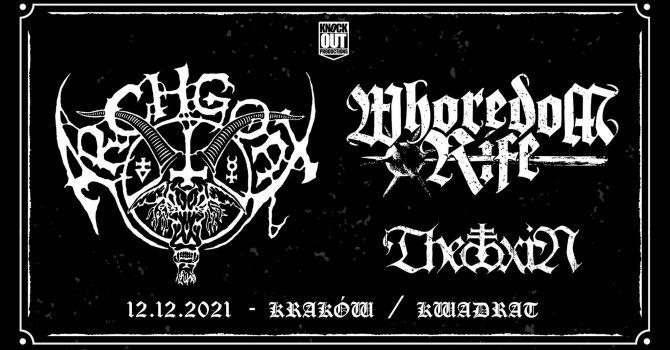 Archgoat + Whoredom Rife, Theotoxin / 12 XII / Kraków