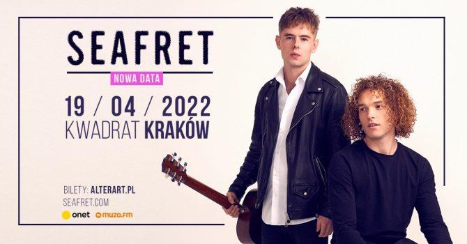 Seafret | Kwadrat, Kraków, 19.04.2022