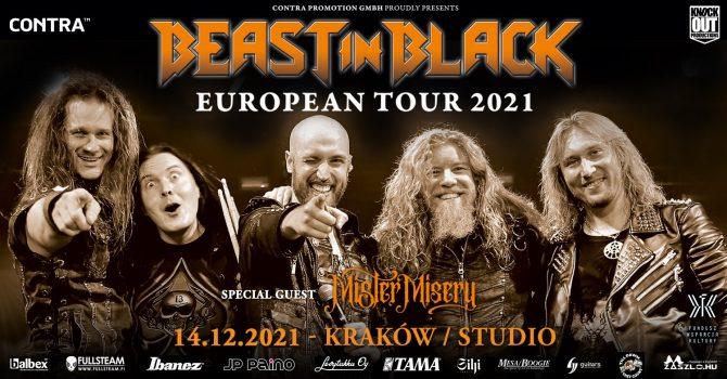 Beast In Black + Mister Misery / 14 XII / Kraków