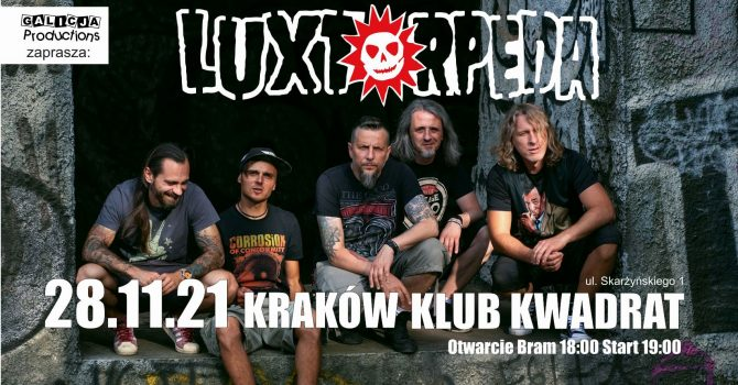 Luxtorpeda | 28.11.2021 Kraków
