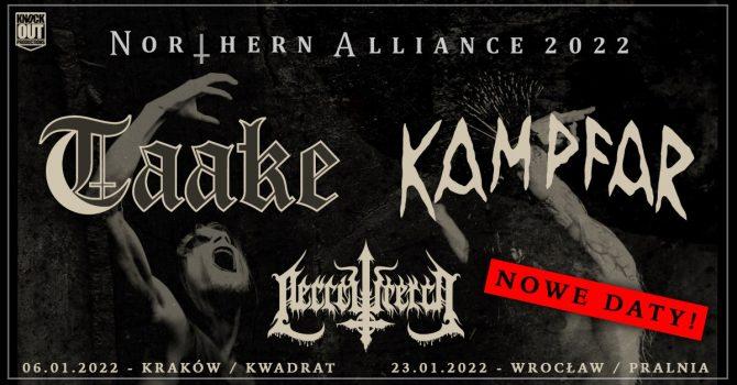 Taake, Kampfar + Necrowretch / 6 I / Kraków