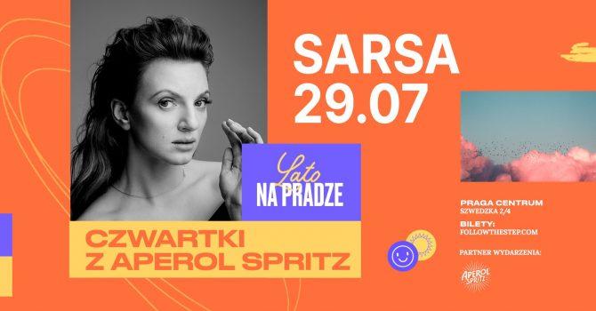 Lato na Pradze z Aperol Spritz / Sarsa / 29 lipca 2021