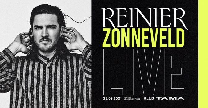 Reinier Zonneveld live / 25.09.2021 / Poznań