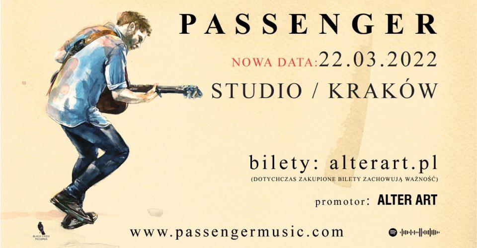 Passenger | Studio, Kraków | 22.03.2022