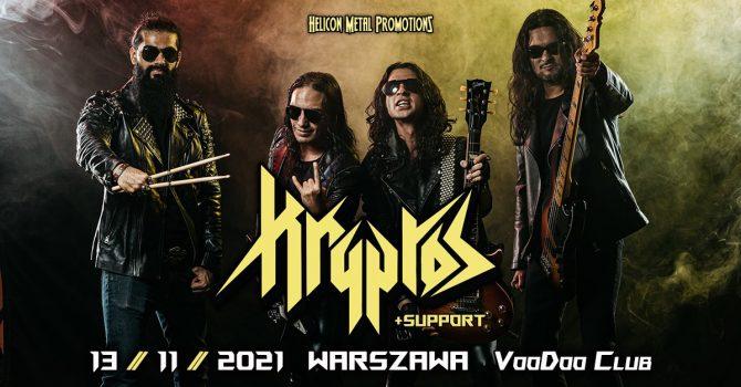 Kryptos - 13.11.2021 - Warszawa / VooDoo