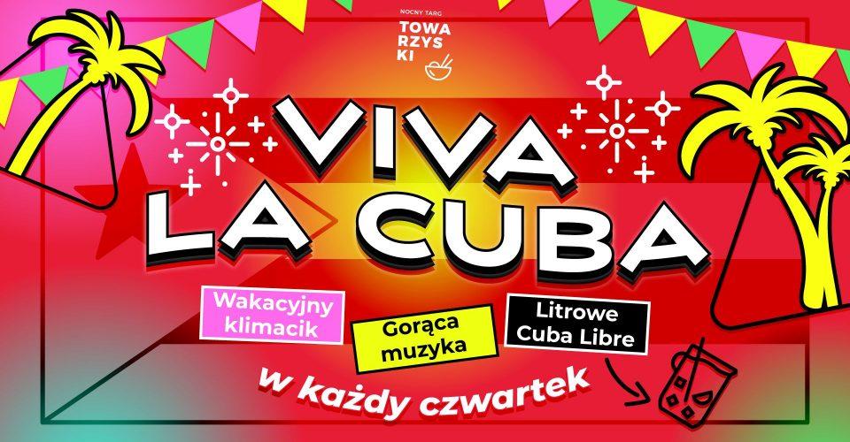 VIVA LA CUBA | Muzyka i Litrowe Cuba Libre na NTT