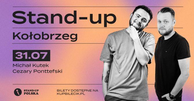 Stand-up / Michał Kutek i Cezary Ponttefski / Kołobrzeg / 31.07.2021 r. / 19:00