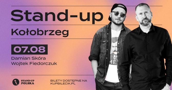 Stand-up / Wojtek Fiedorczuk i Damian Skóra / Kołobrzeg / 7.08.2021 r. / 19:00