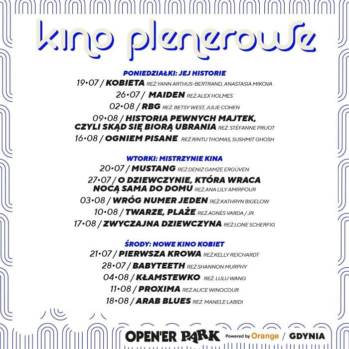 Open'er Park kino plenerowe
