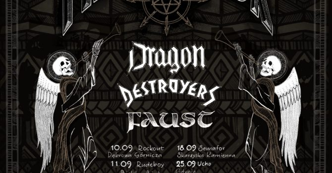 Metal Attack - koncert Dragon, Destroyers, Faust, Painthing